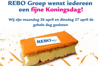 REBO Groep wenst u een fijne Koningsdag!