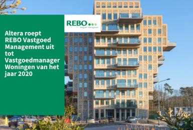Altera roept REBO Vastgoed Management uit tot Vastgoedmanager Woningen van het jaar 2020