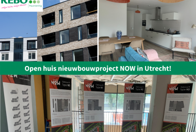 Open huis nieuwbouwproject NOW in Utrecht!